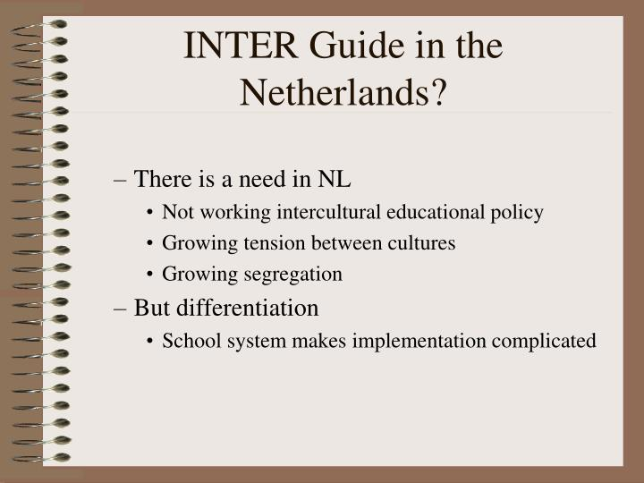 INTER Guide in the Netherlands?