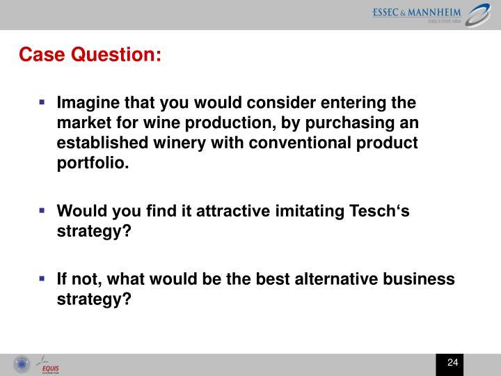 Case Question: