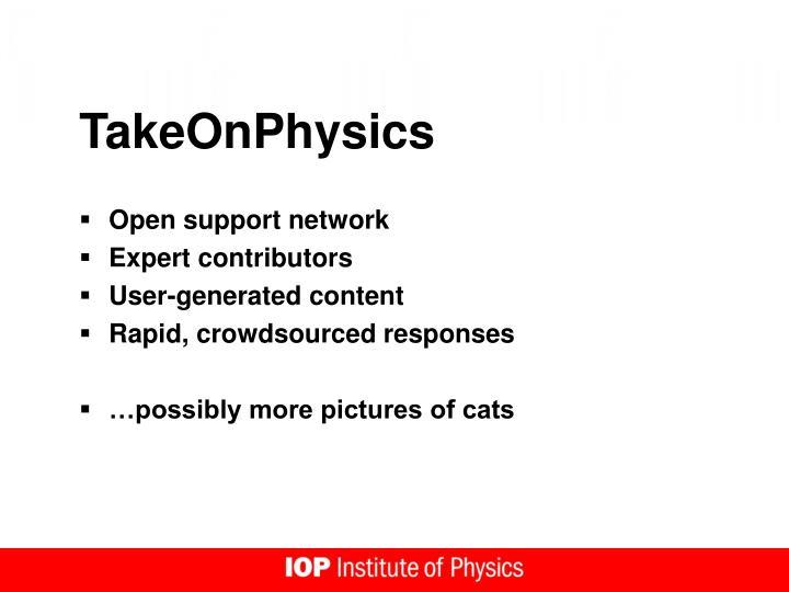 TakeOnPhysics