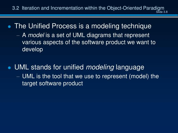 3.2  Iteration and Incrementation within the Object-Oriented Paradigm