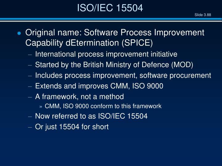 ISO/IEC 15504