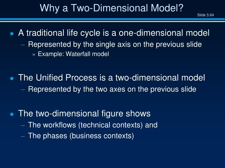 Why a Two-Dimensional Model?
