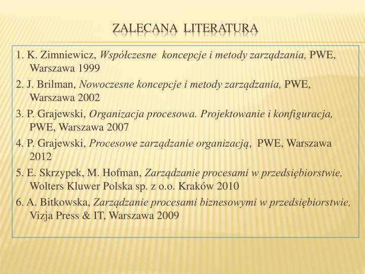1. K. Zimniewicz,