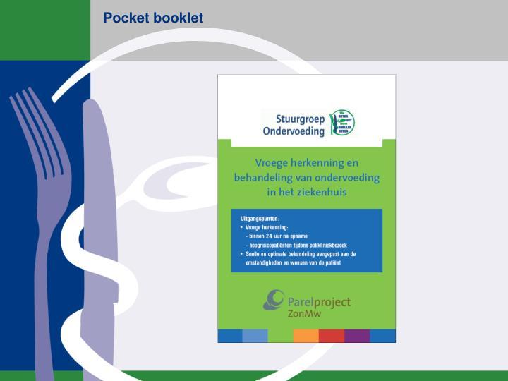 Pocket booklet