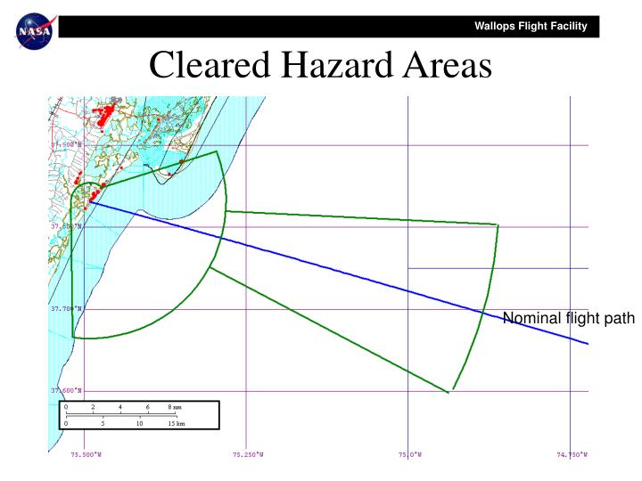 Cleared Hazard Areas