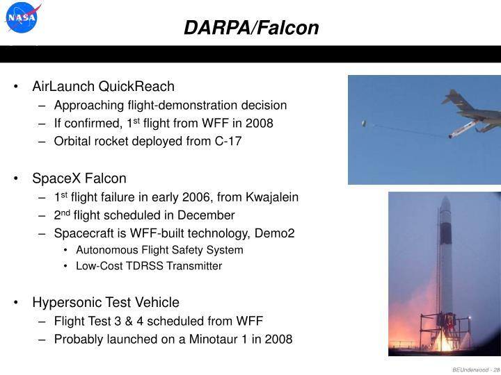 DARPA/Falcon