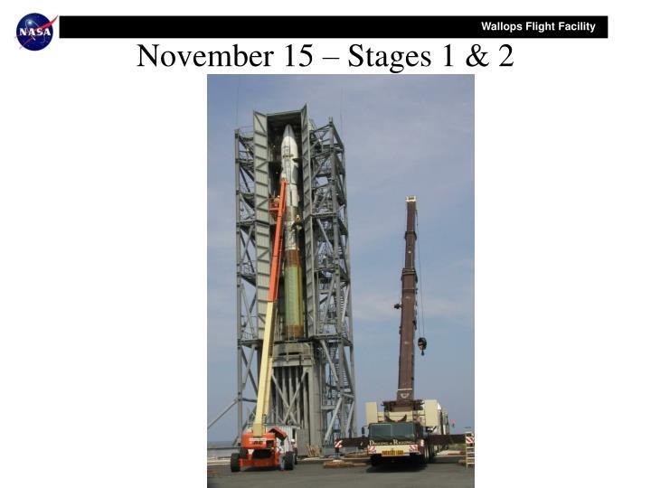 November 15 – Stages 1 & 2
