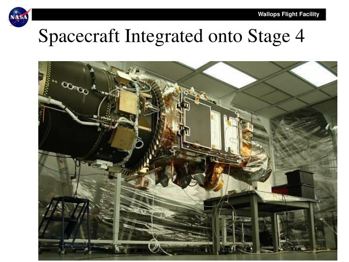 Spacecraft Integrated onto Stage 4