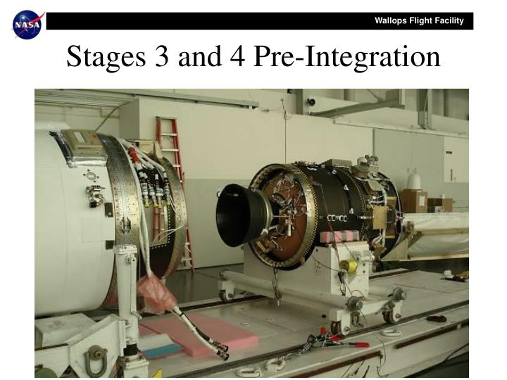 Stages 3 and 4 Pre-Integration