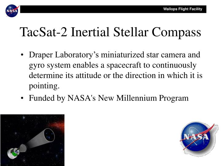 TacSat-2 Inertial Stellar Compass
