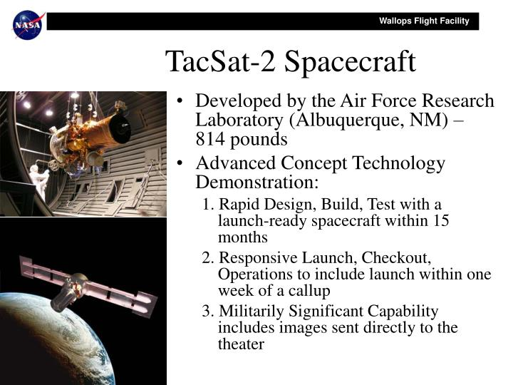 TacSat-2 Spacecraft