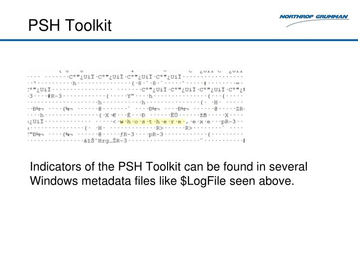 PSH Toolkit