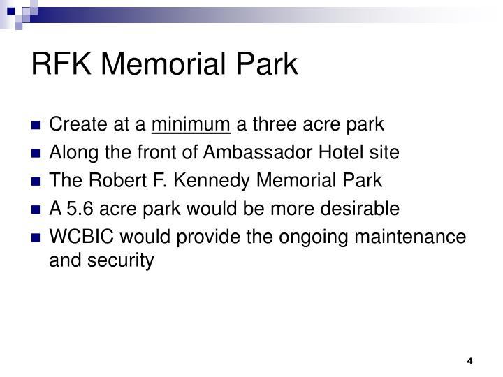 RFK Memorial Park
