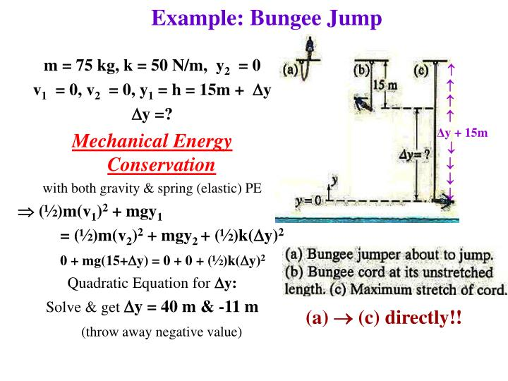 Example: Bungee Jump
