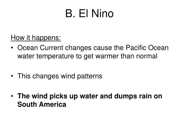B. El Nino