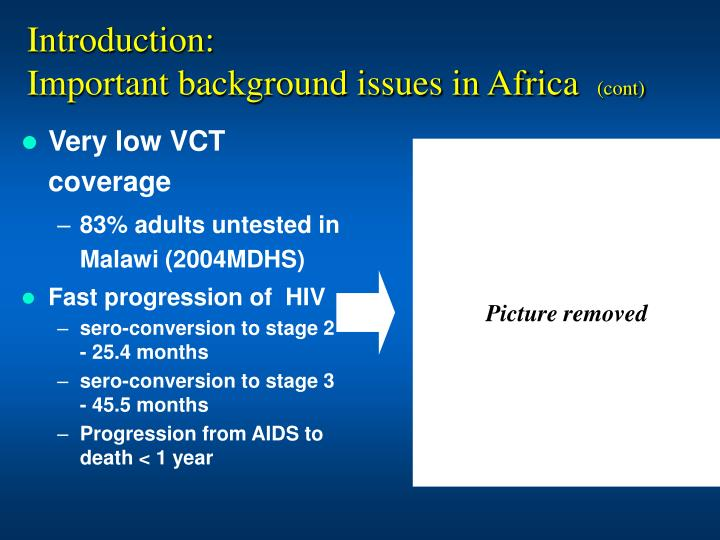 Very low VCT coverage