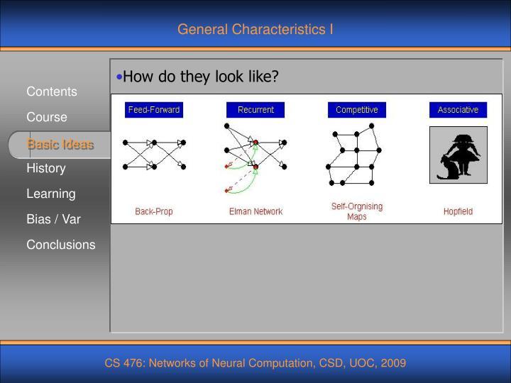 General Characteristics I