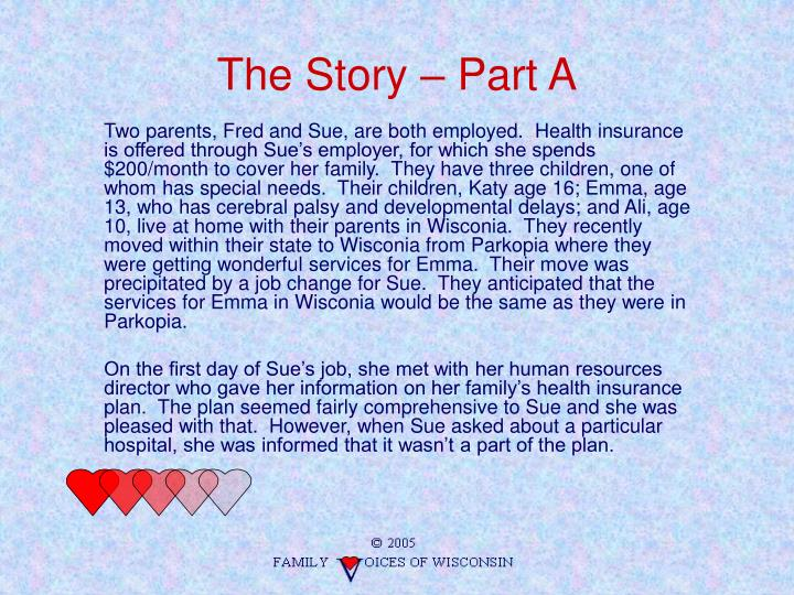 The Story – Part A