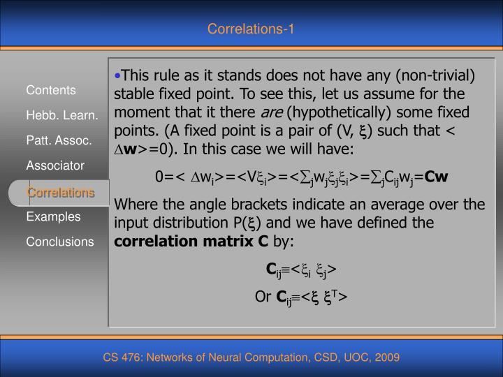 Correlations-1