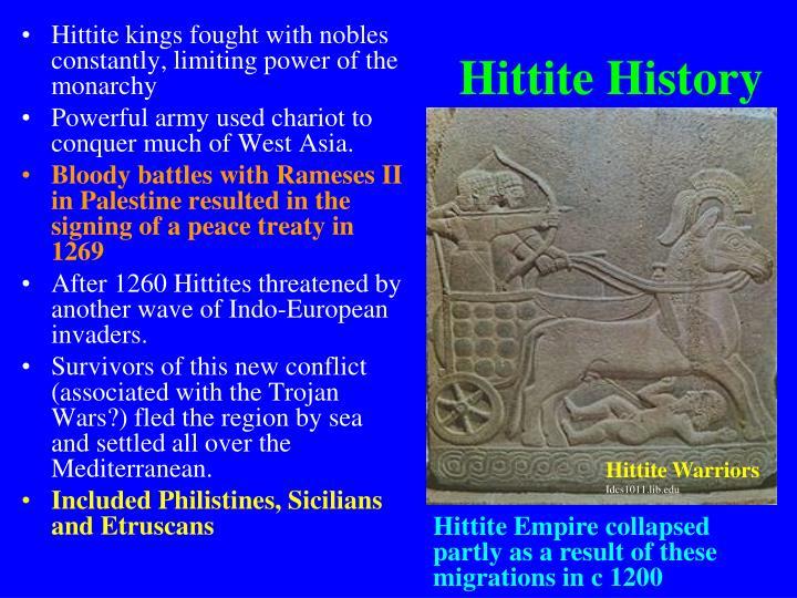 Hittite History