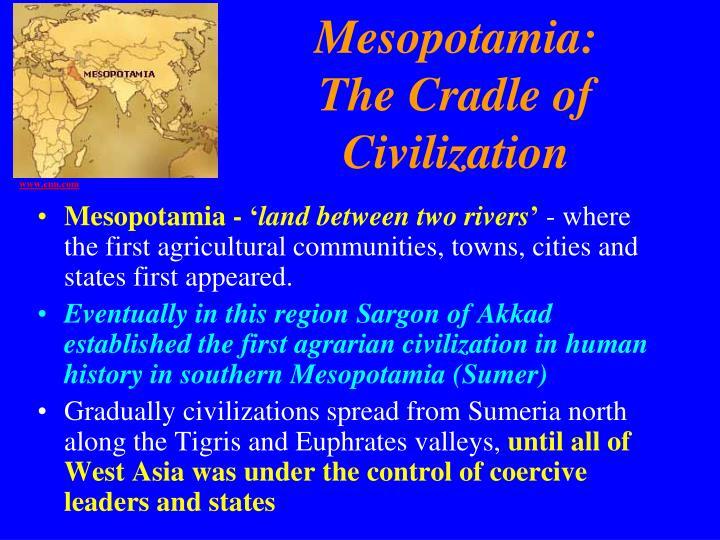 Mesopotamia: