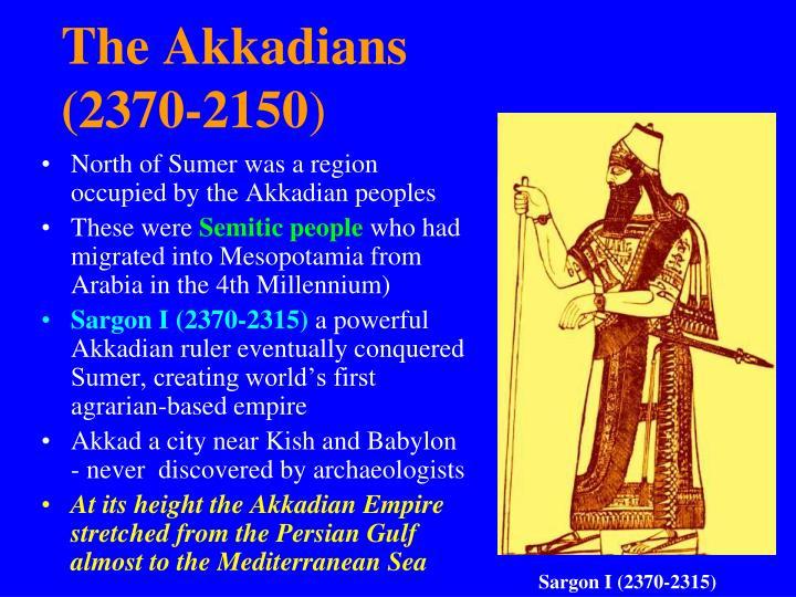 The Akkadians
