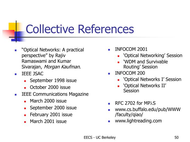 Collective References