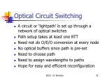 optical circuit switching2