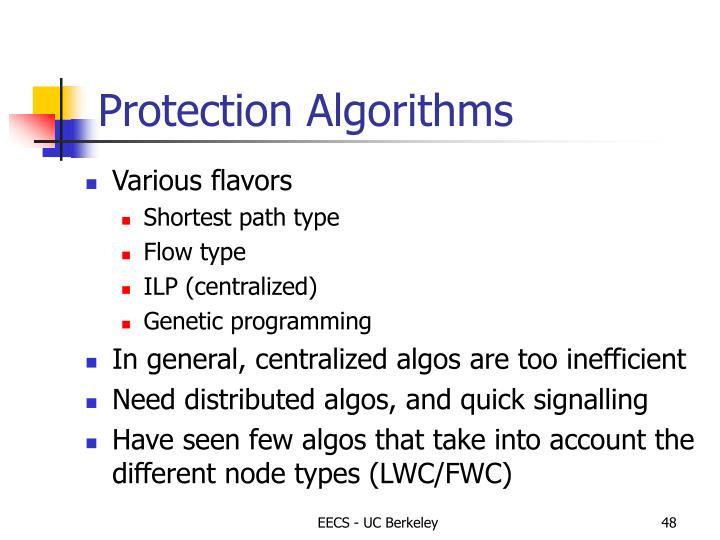 Protection Algorithms