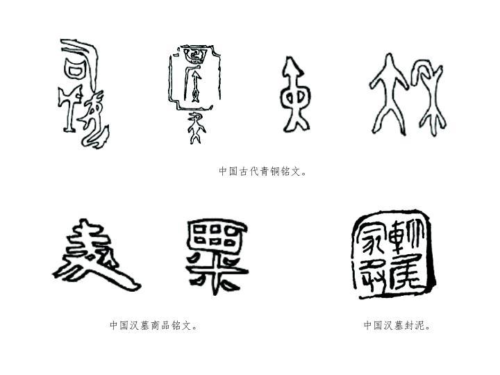 中国古代青铜铭文。