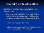 shared cost modification2