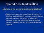 shared cost modification4
