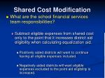 shared cost modification7
