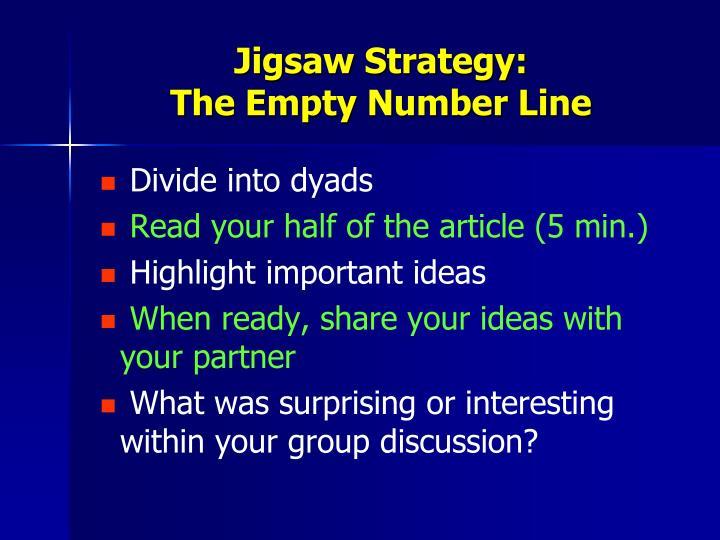 Jigsaw Strategy: