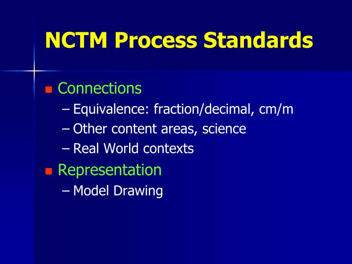 NCTM Process Standards