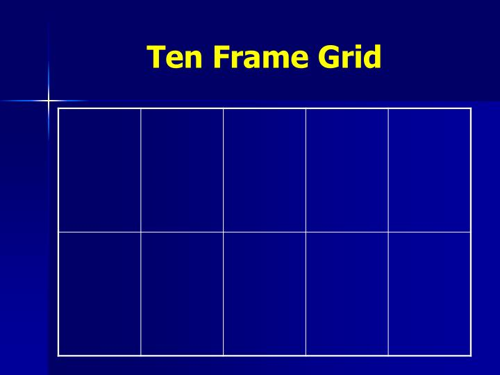 Ten Frame Grid