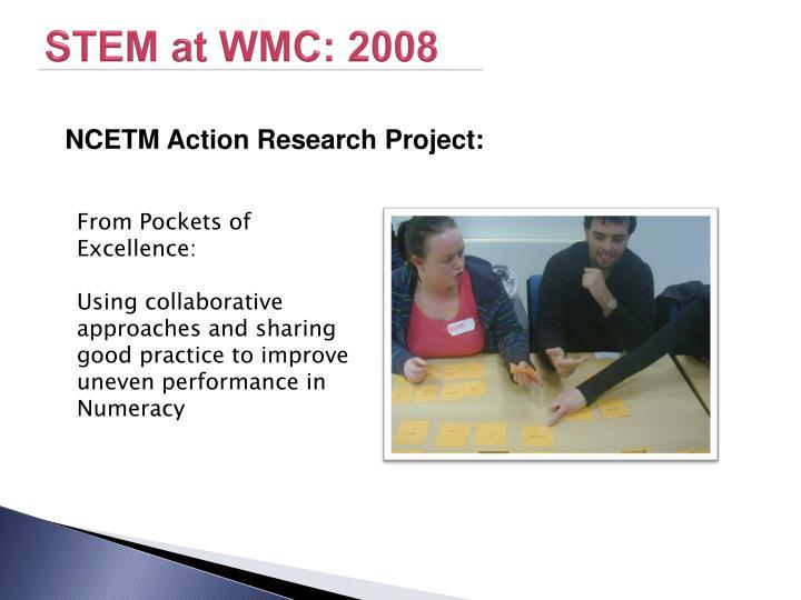 STEM at WMC: 2008