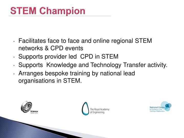 STEM Champion