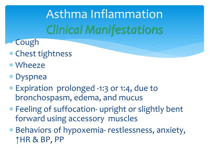 Asthma Inflammation
