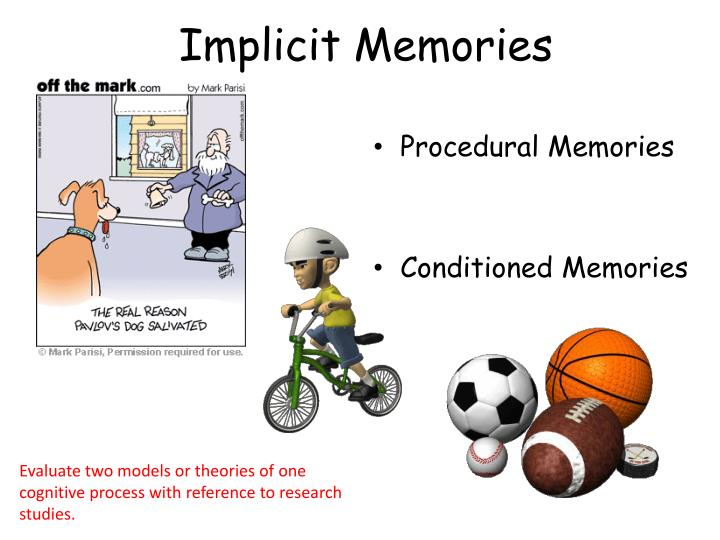 Implicit Memories