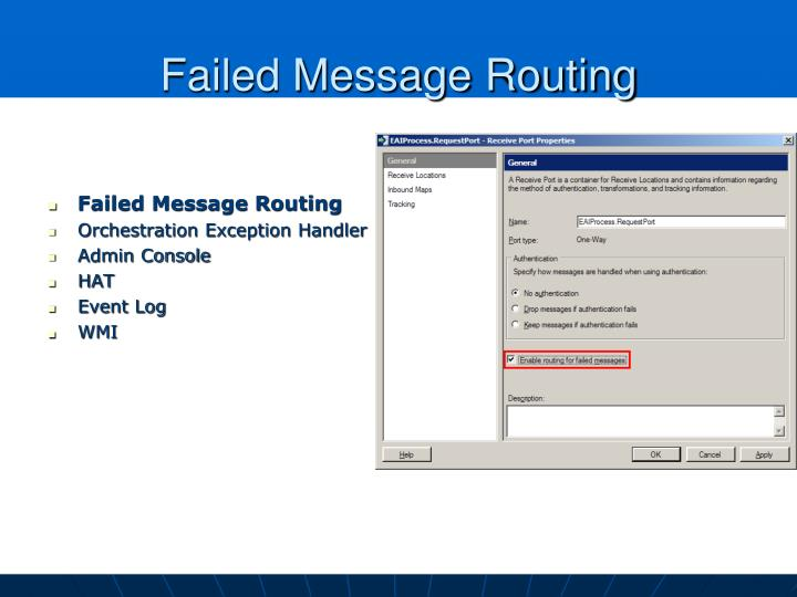 Failed Message Routing