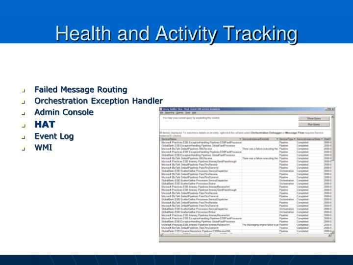 Health and Activity Tracking