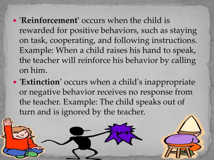 'Reinforcement'