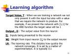 learning algorithm2