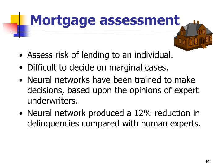 Mortgage assessment