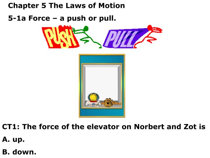 Chapter 5 The Laws of Motion