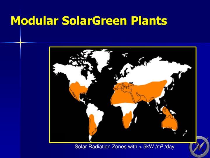 Modular SolarGreen Plants