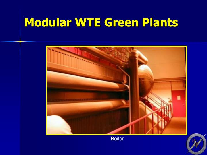 Modular WTE Green Plants