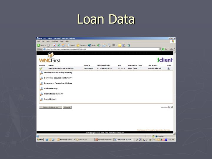 Loan Data