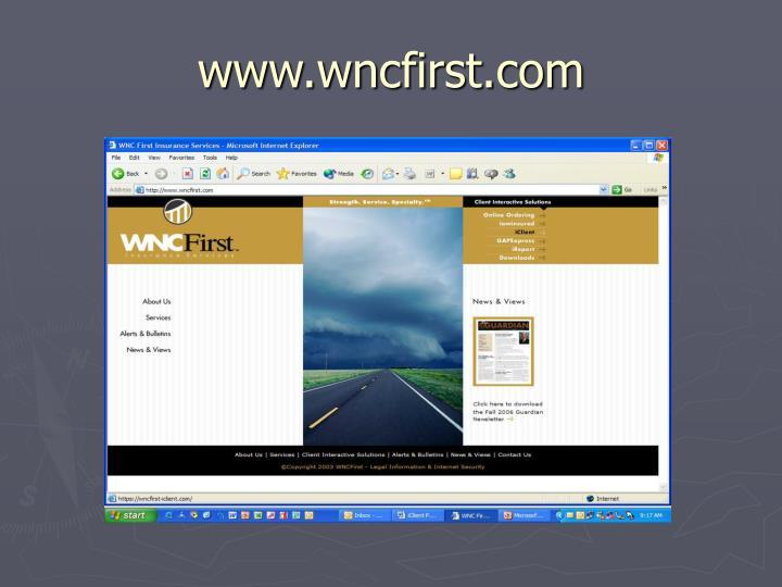 www.wncfirst.com
